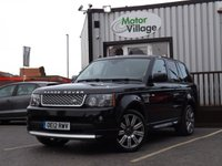 USED 2012 12 LAND ROVER RANGE ROVER SPORT 3.0 SDV6 AUTOBIOGRAPHY SPORT 5d AUTO 255 BHP Autobiography edition. Superb condition with great specification.