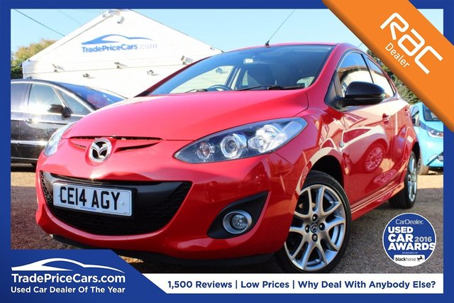 View our 2014 14 MAZDA 2 1.3 VENTURE EDITION 5d 83 BHP