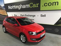 2014 VOLKSWAGEN POLO MATCH EDITION £6995.00