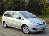 USED 2009 59 VAUXHALL ZAFIRA 1.8 ACTIVE PLUS 5d 138 BHP LOW MILEAGE 7 SEAT CAR