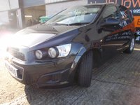 USED 2013 CHEVROLET AVEO 1.2 LT 5d 85 BHP Great Value City Car, No Deposit Finance Available