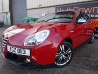 USED 2016 ALFA ROMEO GIULIETTA 1.6 JTDM-2 BUSINESS EDITION 5d 120 BHP Stunning Car, FSH, Low Mileage, Great Economy, No Deposit Finance Available