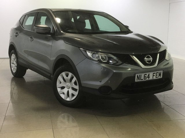 View our 2014 64 NISSAN QASHQAI 1.5 DCI VISIA SMART VISION 5d 108 BHP