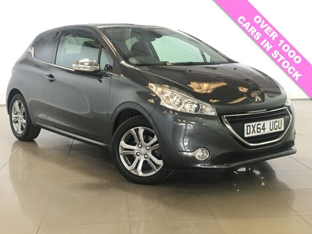 View our 2014 64 PEUGEOT 208 1.2 ALLURE 3d 82 BHP