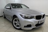 USED 2015 65 BMW 3 SERIES 2.0 320D M SPORT GRAN TURISMO 5DR AUTOMATIC 188 BHP BMW SERVICE HISTORY + LEATHER SEATS + SAT NAVIGATION + PARKING SENSOR + BLUETOOTH + CRUISE CONTROL + MULTI FUNCTION WHEEL + DAB RADIO + 18 INCH ALLOY WHEELS