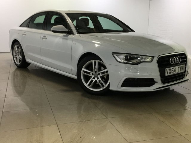 View our 2014 64 AUDI A6 2.0 TDI ULTRA S LINE 4d AUTO 188 BHP