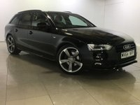 USED 2014 64 AUDI A4 2.0 AVANT TDI S LINE BLACK EDITION 5d 148 BHP XENONS / BANG & OLUFSEN/ DAB