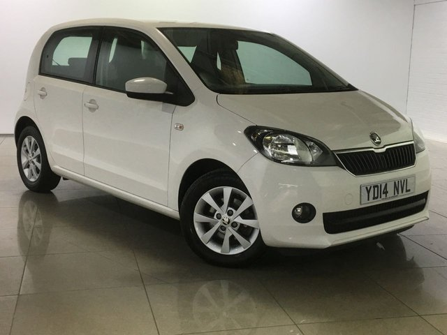 View our 2014 14 SKODA CITIGO 1.0 ELEGANCE GREENTECH 5d 74 BHP