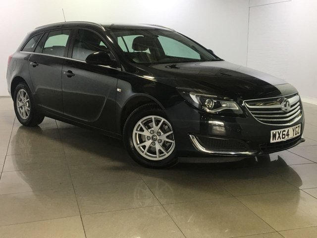 View our 2014 64 VAUXHALL INSIGNIA 2.0 DESIGN CDTI 5d 128 BHP