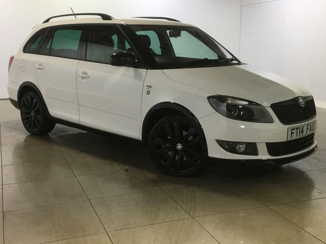View our 2014 14 SKODA FABIA 1.6 MONTE CARLO TDI CR 5d 105 BHP