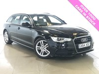 USED 2014 64 AUDI A6 2.0 AVANT TDI ULTRA S LINE 5d AUTO 188 BHP SAT NAV / LEATHER / BLUETOOTH