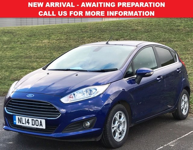 View our 2014 14 FORD FIESTA 1.6 TITANIUM ECONETIC TDCI 5d 94 BHP