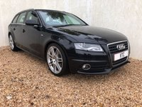 USED 2011 60 AUDI A4 2.0 AVANT TDI S LINE SPECIAL EDITION 5d 141 BHP