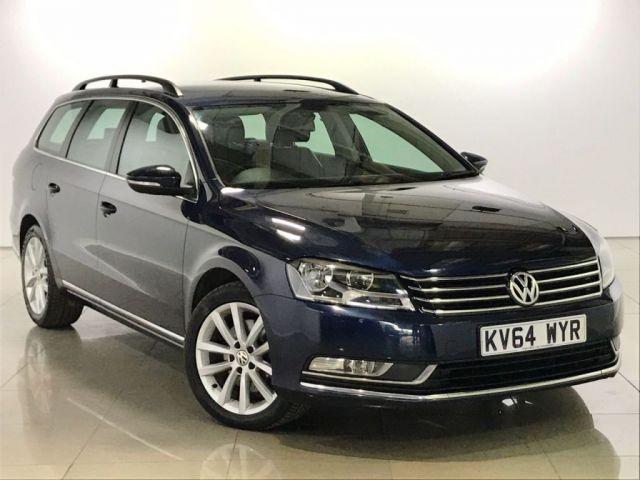 View our 2014 64 VOLKSWAGEN PASSAT 2.0 EXECUTIVE TDI BLUEMOTION TECHNOLOGY 5d 139 BHP