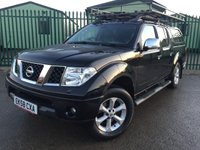 USED 2008 58 NISSAN NAVARA 2.5 LONG WAY DOWN EXPEDITION DCI D/C 1d AUTO 169 BHP SAT NAV LEATHER CANOPY NO FINANCE REPAYMENTS FOR 2 MONTHS STC. COMMERCIAL (£8900+1780VAT). 4WD. HARDTOP CANOPY. SATELLITE NAVIGATION. SUNROOF. STUNNING BLACK MET WITH FULL GREY LEATHER TRIM. ELECTRIC HEATED SEATS, CARGO LINING. CRUISE CONTROL. AIR CON. SIDE STEPS. 17 INCH ALLOYS. COLOUR CODED TRIMS. PRIVACY GLASS. PARKING SENSORS. ROOF RACK. ROOF RAILS. TOWBAR. BLUETOOTH PREP. PAS. R/CD PLAYER. MFSW. MOT 09/18. TEL 01937 849492