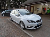 USED 2013 63 SEAT IBIZA 1.6 CR TDI FR 5d 104 BHP £30 A YEAR ROAD TAX, CRUISE CONTROL, SERVICE HISTORY, 2 KEYS