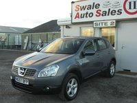 USED 2007 57 NISSAN QASHQAI 1.5 ACENTA DCI 5d 105 BHP £26 PER MONTH NO DEPOSIT, SEE FINANCE LINK BELOW