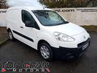 USED 2014 14 PEUGEOT PARTNER 850 1.6 HDI 90 BHP PROFESSIONAL L1 SIDE DOOR