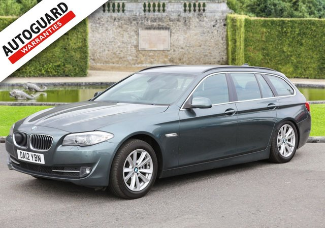 2012 12 BMW 5 SERIES 2.0 520D SE TOURING 5d 181 BHP