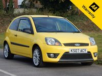 2007 FORD FIESTA 1.6 ZETEC S 30TH ANNIVERSARY LTD 3d 100 BHP £2995.00