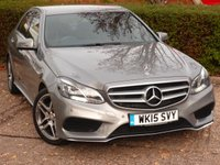 USED 2015 15 MERCEDES-BENZ E CLASS 2.1 E220 BLUETEC AMG LINE 4d AUTO 174 BHP NEED FINANCE ?  POOR CREDIT WE CAN HELP! JUST ASK ! CLICK THE LINK AND APPLY 24/7! BEAUTIFUL MERCEDES STILL UNDER MERCEDES WARRANTY!!
