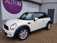USED 2015 64 MINI CONVERTIBLE 1.6 COOPER D 2d 112 BHP