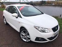 USED 2011 61 SEAT IBIZA 1.4 SPORTRIDER 3d 85 BHP **ALLOYS, AIR CON**
