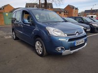 USED 2014 64 CITROEN BERLINGO MULTISPACE 1.6 HDI PLUS 5d 91 BHP EXCELLENT FUEL ECONOMY!!..LOW CO2 EMISSIONS(135G/KM)..LOW ROAD TAX...FULL HISTORY...ONLY 9571 MILES FROM NEW!!..WITH AIR CONDITIONING AND ALLOY WHEELS!!
