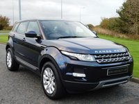 USED 2014 63 LAND ROVER RANGE ROVER EVOQUE 2.2 SD4 PURE TECH 5d 190 BHP 1 OWNER, LRSH, 9 SPEED AUTO