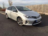 2014 TOYOTA AURIS 1.8 VVT-I EXCEL 5d AUTO 98 BHP £12450.00
