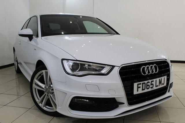 View our 2015 65 AUDI A3 2.0 TDI S LINE 3DR 148 BHP