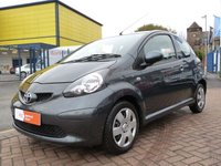 USED 2006 06 TOYOTA AYGO 1.0 VVT-I PLUS 3d  £20 TAX ~ AIR CONDITIONING ~ FULL SERVICE HISTORY