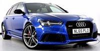 USED 2015 65 AUDI RS6 AVANT 4.0 TFSI Avant Tiptronic Quattro 5dr [553 BHP] Pan Roof, Sports Exhaust ++++