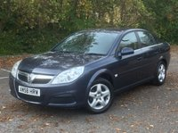 USED 2008 58 VAUXHALL VECTRA 1.8 VVT EXCLUSIV 5d 140 BHP