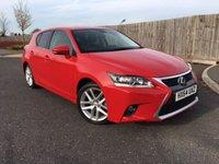 2014 LEXUS CT 1.8 200H ADVANCE 5d AUTO 134 BHP £12650.00