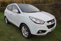 2011 HYUNDAI IX35 2.0 PREMIUM CRDI 2WD 5d HISTORY-TWIN ROOFS-LTHER £9790.00