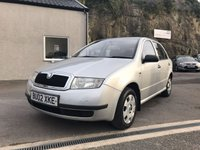 USED 2002 02 SKODA FABIA 1.4 CLASSIC 5d 67 BHP RELIABLE CHEAP CAR ** MOT TILL JUNE 2018 **