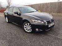 2014 LEXUS GS 2.5 300H SE 4d AUTO 220 BHP £18998.00