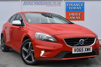 USED 2015 65 VOLVO V40 2.0 D2 R-DESIGN 5d 118 BHP **ONE OWNER FROM NEW**