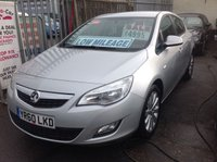 2010 VAUXHALL ASTRA 1.6 EXCLUSIV 5d 113 BHP £SOLD