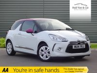 USED 2014 14 CITROEN DS3 1.6 DSTYLE PINK 3d 120 BHP SPECIAL EDITION,PINK,BLUETOOTH