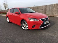 2014 LEXUS CT 1.8 200H ADVANCE 5d AUTO 134 BHP £12885.00