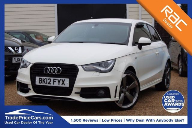View our 2012 51 AUDI A1 1.4 TFSI S LINE BLACK EDITION 3d AUTO 185 BHP