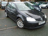 USED 2008 58 VOLKSWAGEN GOLF 1.9 MATCH TDI 5d 103 BHP 2 OWNER+GOOD SERVICE HISTORY