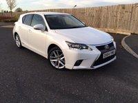 2014 LEXUS CT 1.8 200H ADVANCE 5d AUTO 134 BHP £13685.00