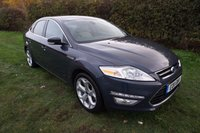 "USED 2011 11 FORD MONDEO 2.0 TITANIUM X 5d  FFSH-LEATHER HEATED/COOLED_18"" ALLOYS Presented with 2 keys, Full Ford Service History, Leather Heated/Cooled Seats, Front & Rear Parking Aid, Crusie Control, Voice Active Bluetooth, DAB Radio, CD Player, 18 "" Y Alloys KeylessGo, Dual Climate Control, Auto Lights & Wipers, Heated Front Screen"