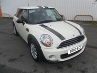 2010 MINI HATCH ONE 1.6 ONE 3d 98 BHP £6495.00