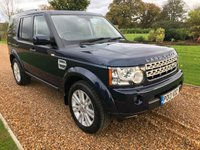 USED 2013 13 LAND ROVER DISCOVERY 3.0 4 SDV6 GS 5d AUTO 255 BHP HEATED LEATHER, PARK ASSIST, BLUETOOTH, DAB