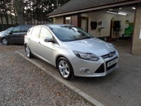 USED 2014 14 FORD FOCUS 1.6 ZETEC TDCI 5d 113 BHP # FULL SERVICE HISTORY # 1 OWNER # £20 TAX #