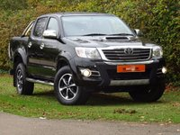 USED 2015 15 TOYOTA HI-LUX 3.0 D-4D Invincible X Double Cab Pickup 4dr FSH SATNAV LEATHER NO VAT VGC
